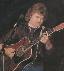Cousin Ricky Skaggs performing