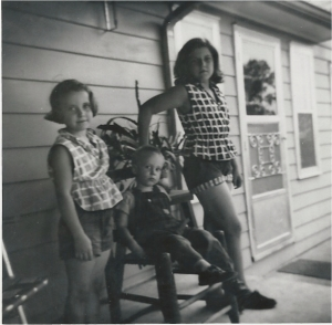 Genette, Joyce and me in early 1960's