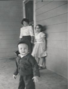 Joyce, Genette and me in 1957