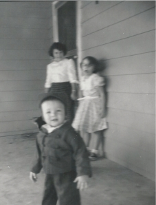 Joyce, Genette and me in 1957