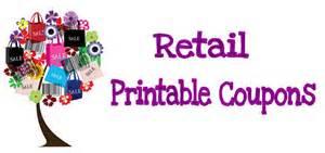 Reatil Printable Coupons